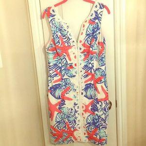 Lilly Pulitzer She Sells Seashell Janice Dress